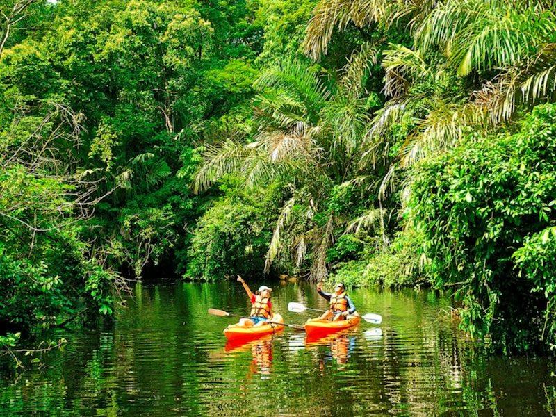 Costa Rica Mietwagentour - Kanutour